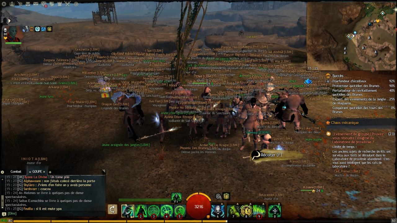 Missions de guilde