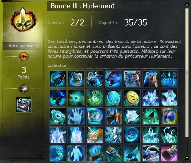 Brame iii hurlement
