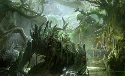 Forest 17 concept art denravi