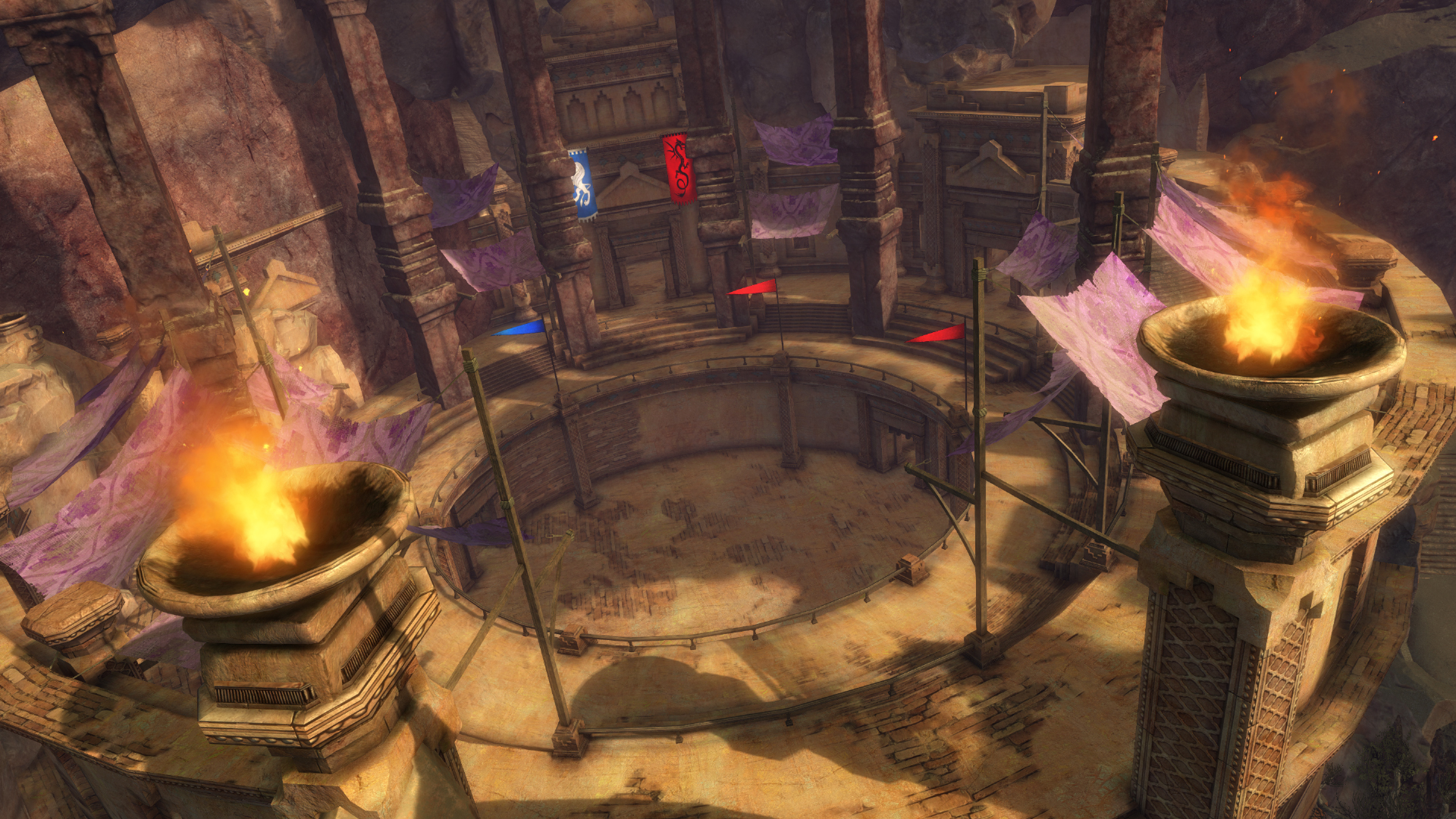 Gw2 heart of thorns guild building arena