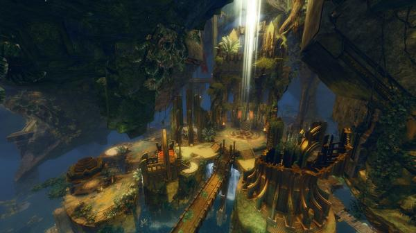 Gw2 heart of thorns guild hall gilded hollow 2