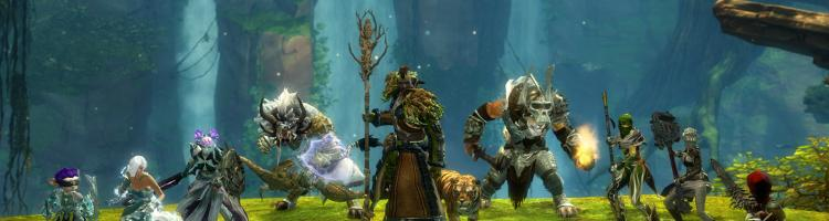 Gw2 hot 10 2015 profession elite specs group shot