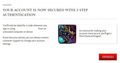 Gw2 mini mystical dragon 2 step verification 2