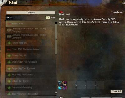 Gw2 mini mystical dragon 2 step verification 3