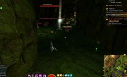 Gw2 mushroom spore cloud hero point tangled depths 3