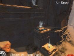 Gw2 new desert borderlands wvw map air keep shrines