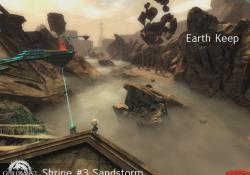 Gw2 new desert borderlands wvw map earth keep shrines 3