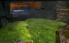 Gw2 nightthistle bloom hero point tangled depths 3