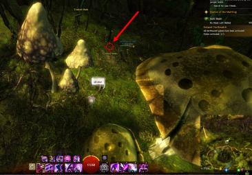 Gw2 no masks left behind achievement guide tarnished treetop 5