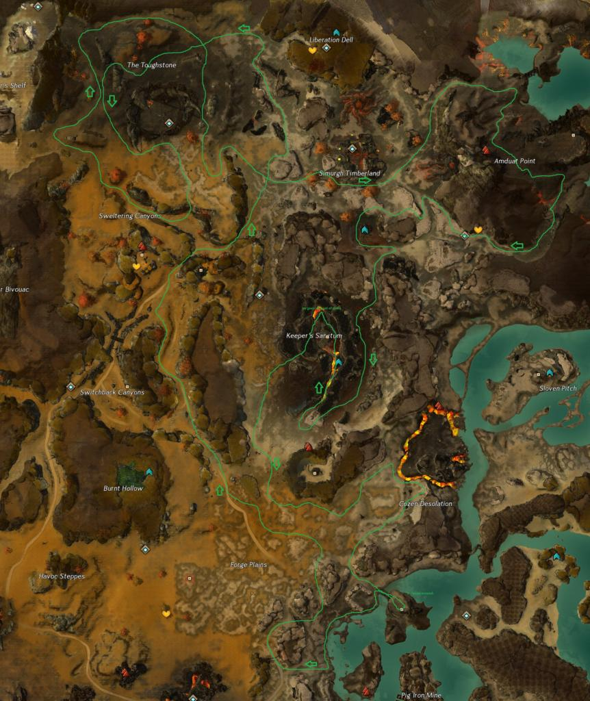 les primes de guilde Gw2-shaman-arderus-guild-bounty