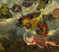 Gw2 verdant brinks insight canopy over pact encampment