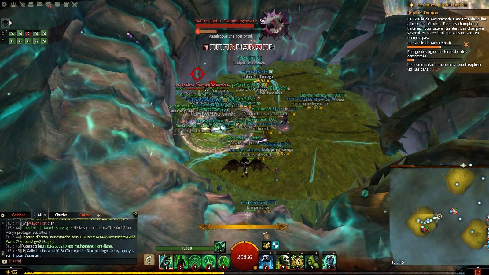 Carte Au Tresor Enchante Gw2.Repli Du Dragon Succes D Exploration