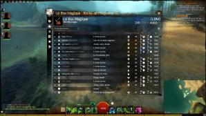 Interface de guilde