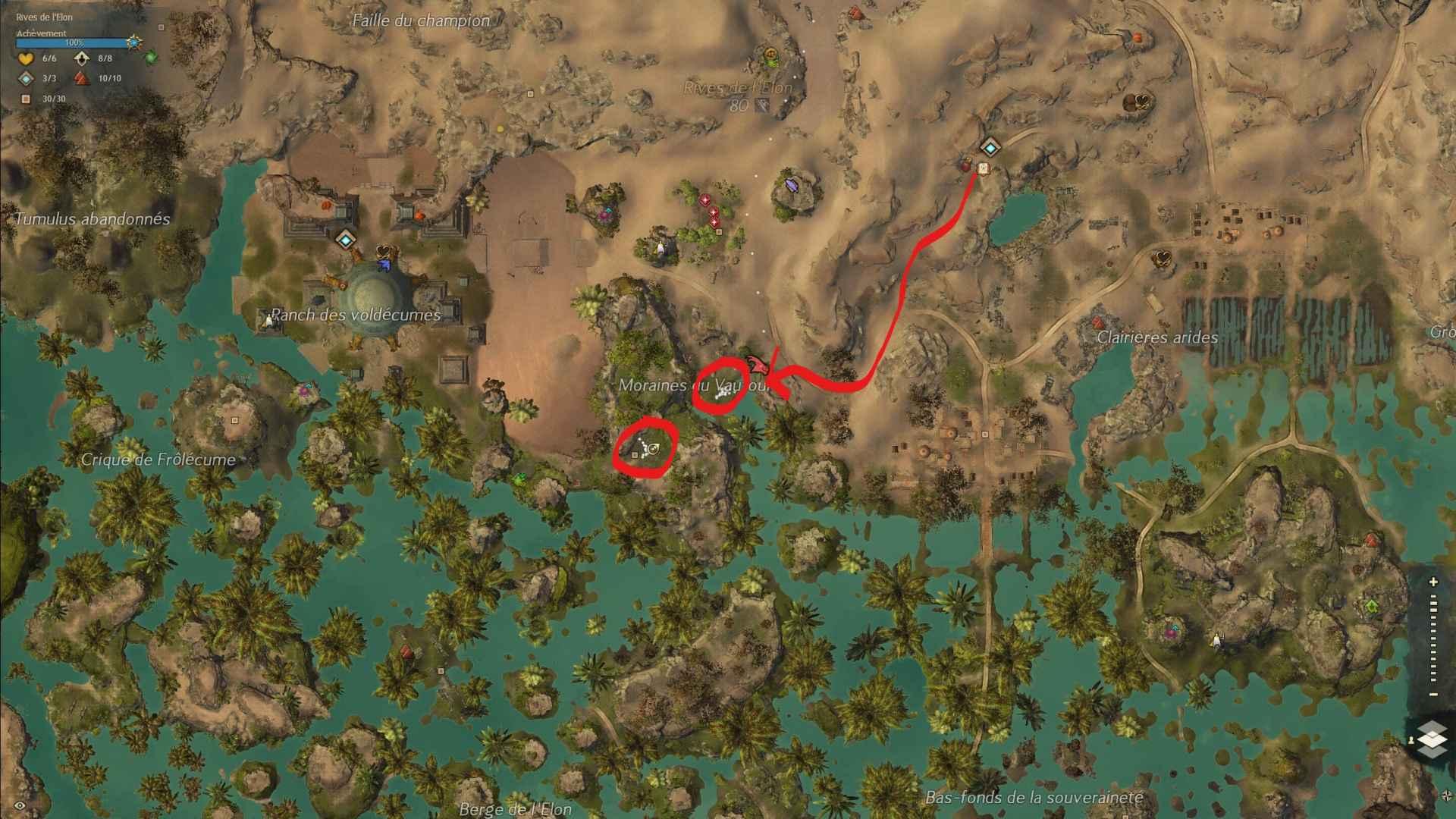 Moraine du vautour ouest est map compressed