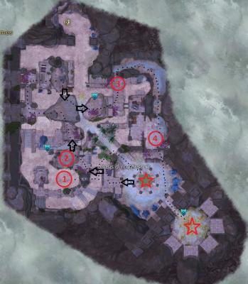 Oasis du crepuscule map