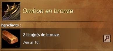 Ombon bronze