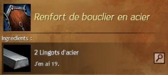 Renfort acier