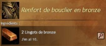 Renfort bronze