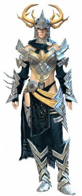 Stag armor heavy norn female front