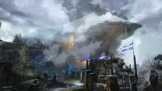 Stronghold concept art