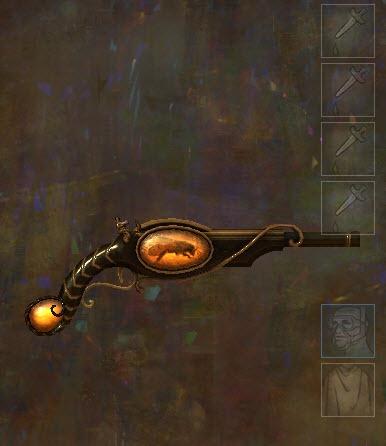 Apparences d'armes en ambrite