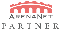 Arenanetpartnerlogo centered alphared