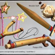 Armes de jouets d hivernel