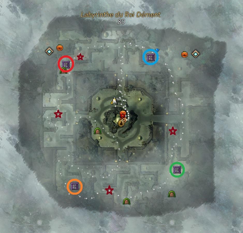 Boss du labyrinthe du roi dement