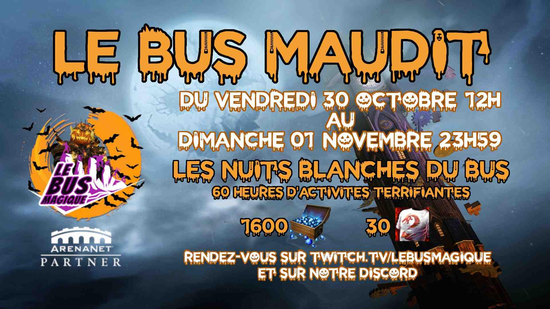 Bus maudit 2020