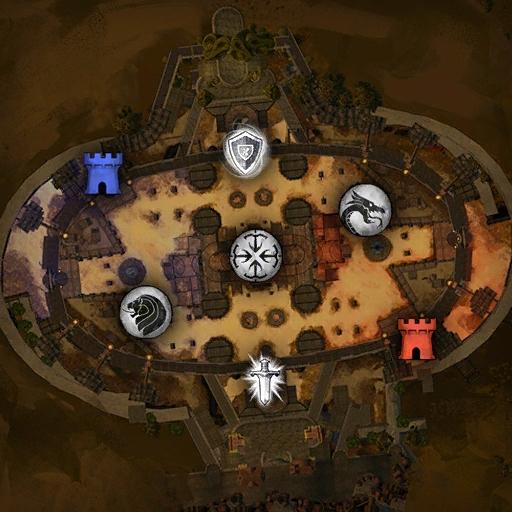 Carte amphitheatre eternel