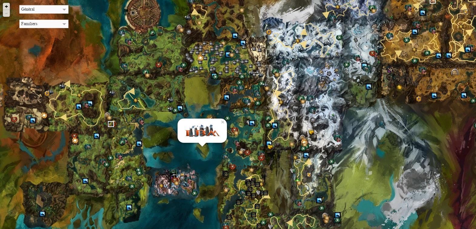 Gw2 Karte.Carte Exploration Lbm