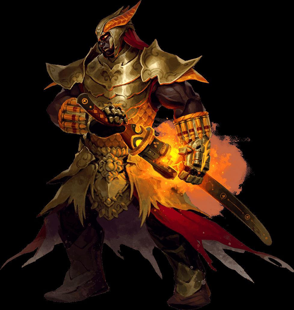 Char warrior