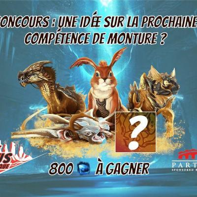 Concours competence monture
