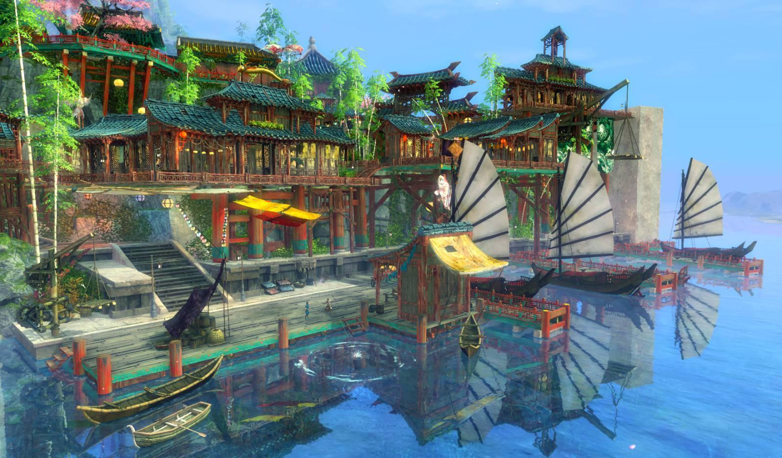 Un port de Shing Jea