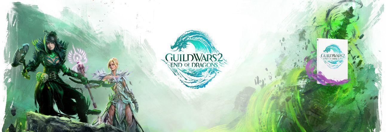Pré-commandez l'extension Guild Wars 2 : End of Dragons