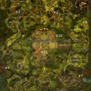 Gw2 auric basin hero points map1