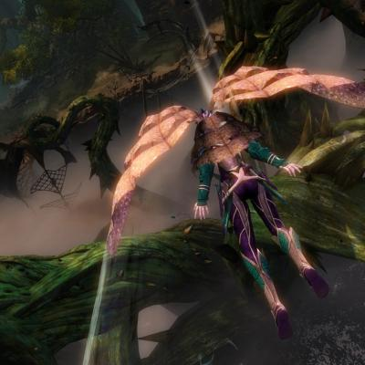 Gw2 heart of thorns gliding 2