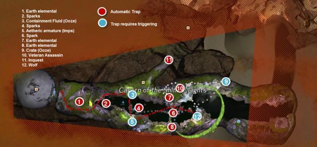 Gw2 nary a pitfall dragons reach pt 1 achievement guide