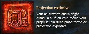 Projection explosive