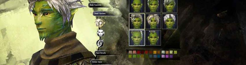 Sylvari character creation compressed